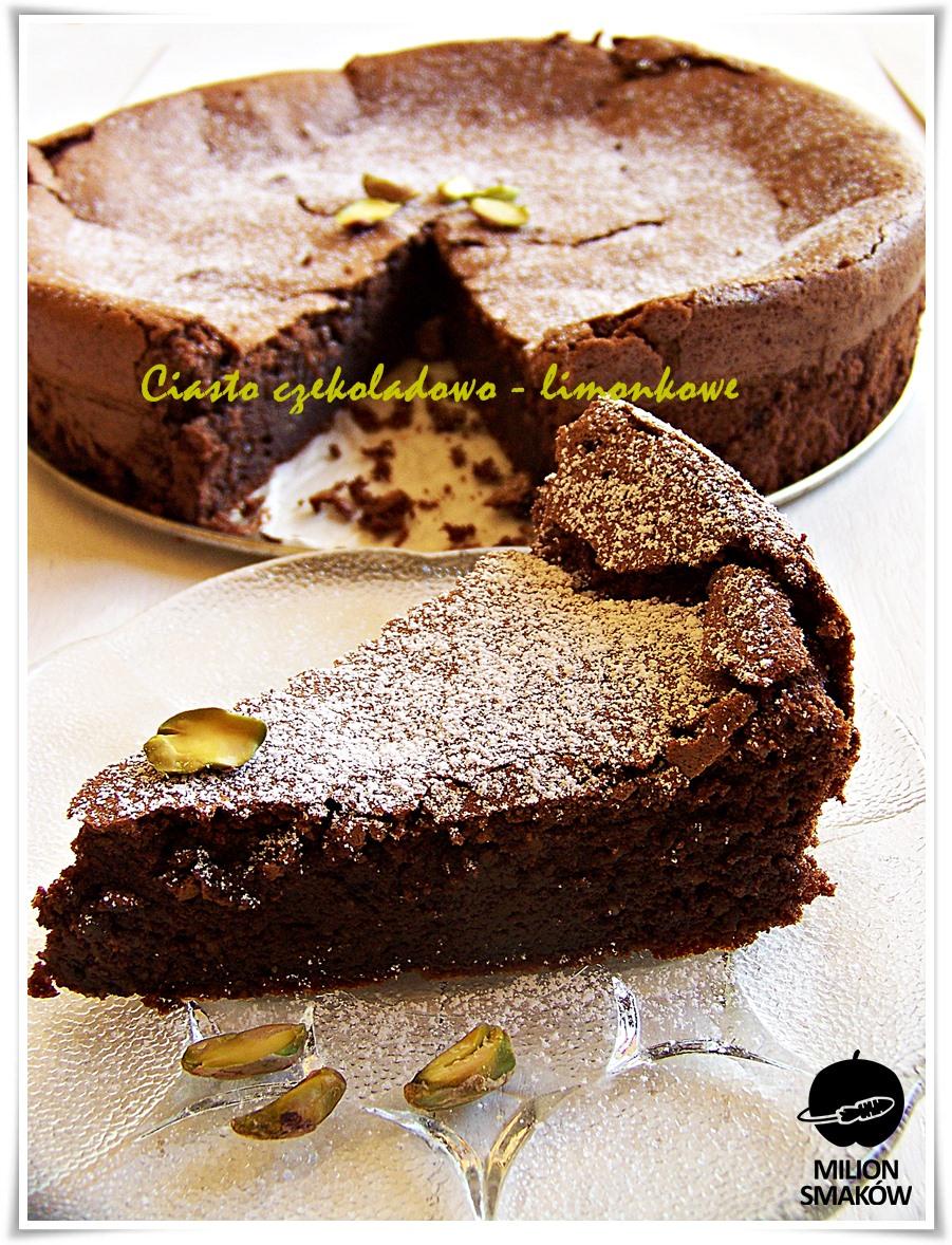 Bezglutenowe ciasto czekoladowo-limonkowe Przepis